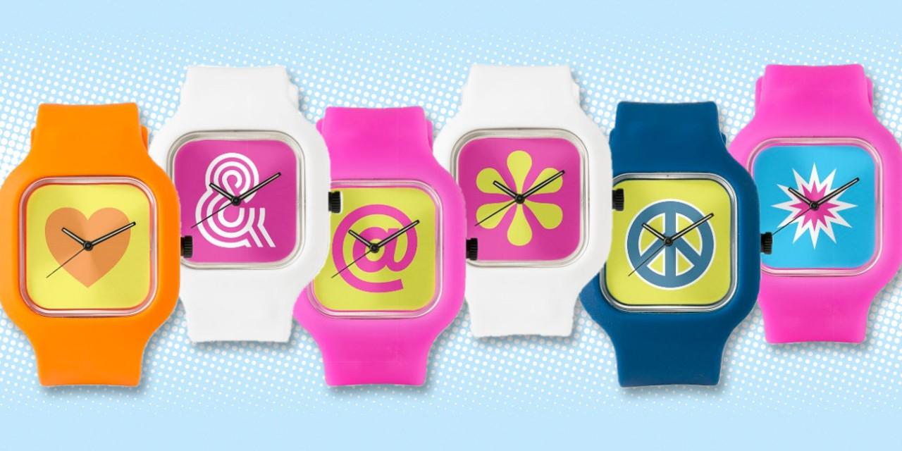 Pop-art Watches By Odd Matter