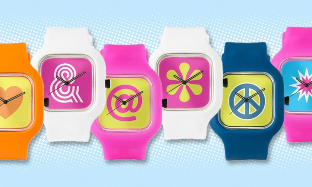 Pop-art Watches By Odd Matter