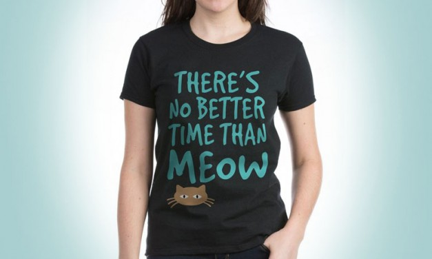 Embrace Your Inner Crazy Cat Lady With These Cool Cat Tees!