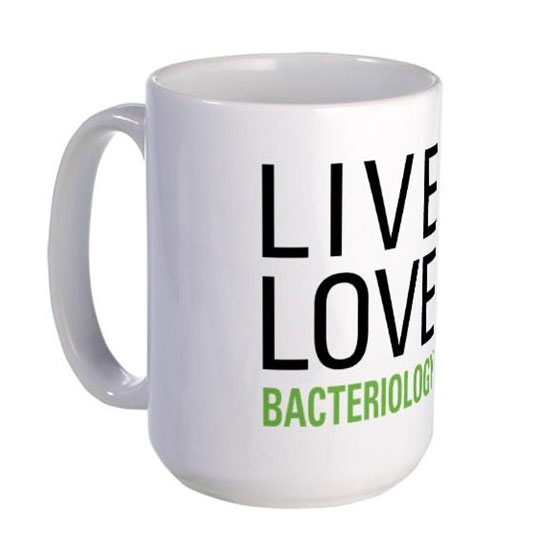 Live Love Bacteriology Coffee Mug