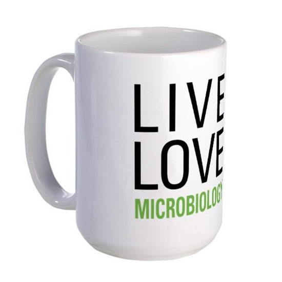 Live Love Microbiology Coffee Mug