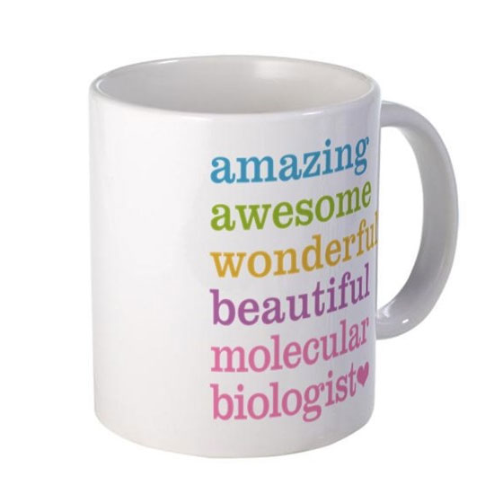 Amazing Awesome Molecular Biologist Coffee Mug