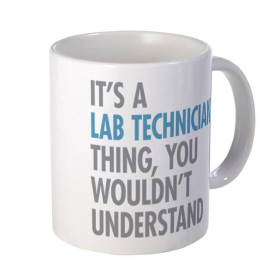 It's a Lab Tech Thing Coffee Mug