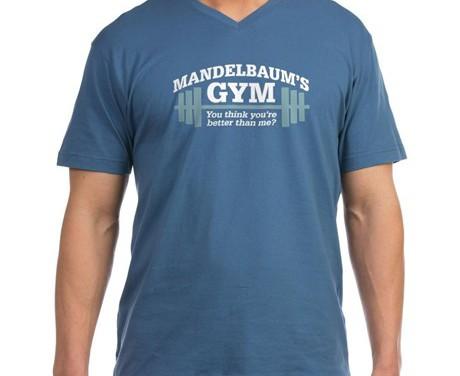 Mandelbaums Gym T-shirt