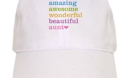 Buy this unique cap for your amazing Aunt