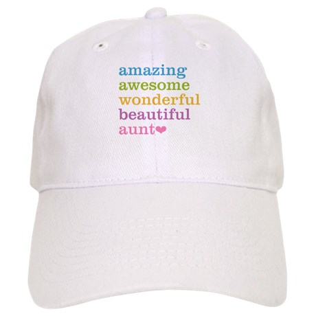 Buy this unique cap for your amazing Aunt