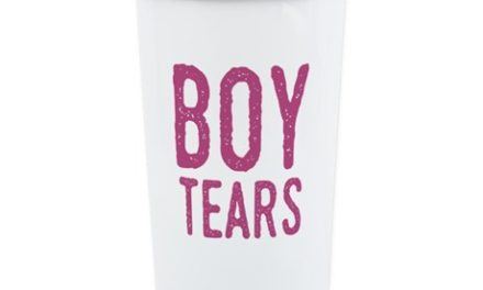 Funny Boy Tears Travel Mug