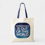 Humorous Space Science Tote Bags
