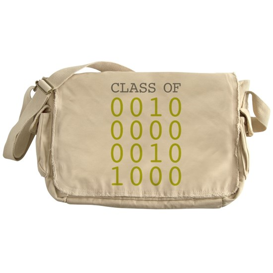 Binary Number Class of 2028 Messenger Bag