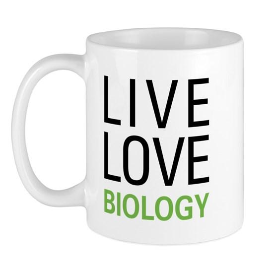 Live Love Biology Mug