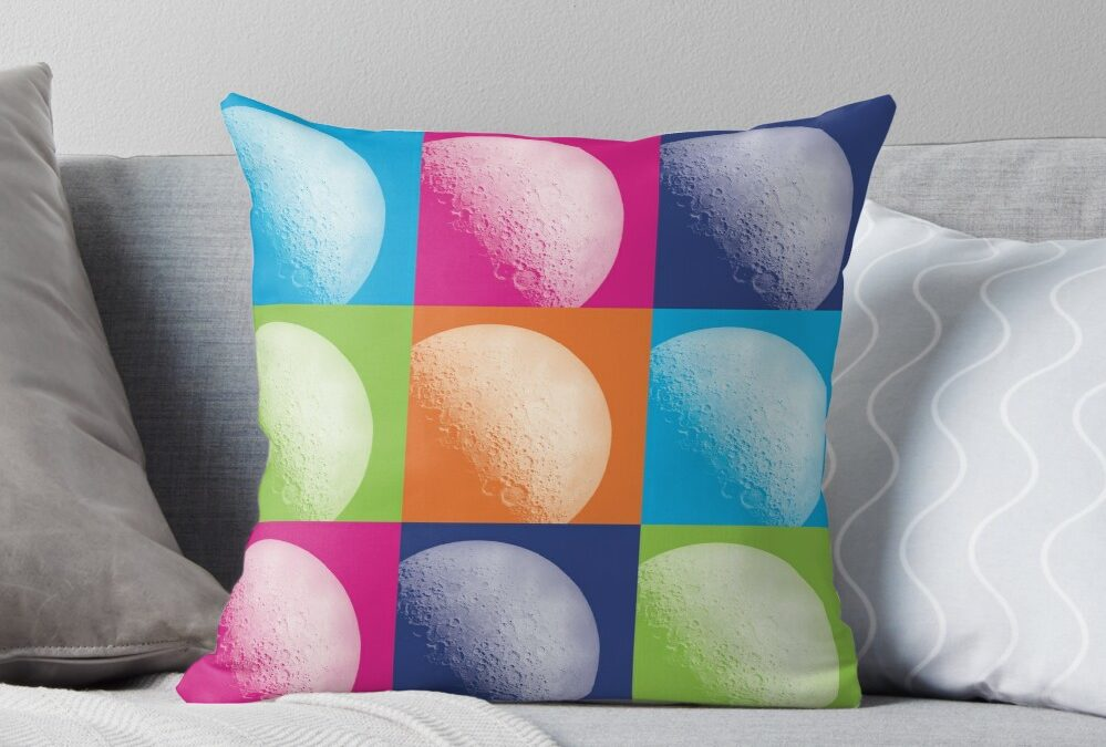 Moon Art Home Decor for Space Scientists